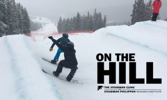 VIDEO: Storm surfing with snowboard cross pros