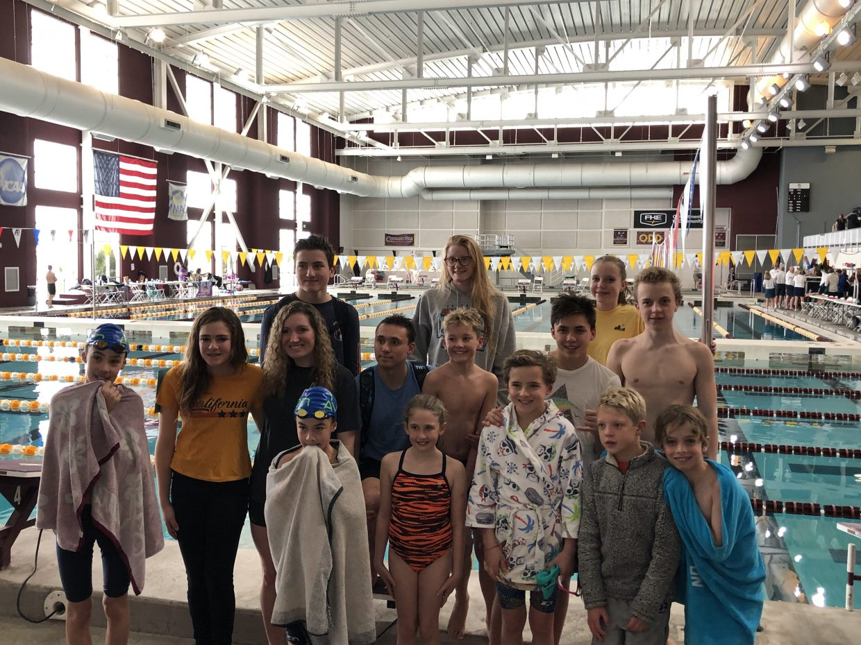 The Avon Swim Club has swimmers from East Vail to Eagle.