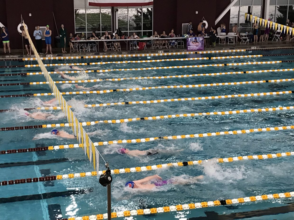 Last weekend at the Grand Junction Invite, the Avon Swim Club competed with teams from around the Western Slope, with the boys coming in second in the tournament and a large number of state qualifying times and personal bests.