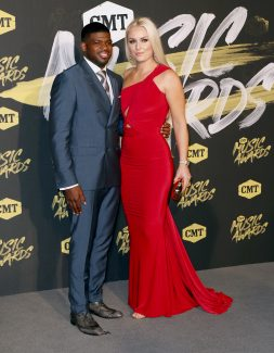Vonn and boyfriend Subban go together like snow and ice