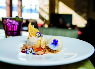 The 10th is a magical on-mountain lunch spot where culinary adventure meets outdoor adventure