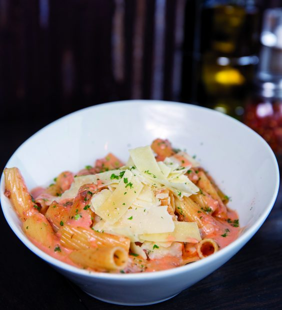 Sauce on the Creek is a welcoming, family-style atmosphere with contemporary Italian cuisine…plus some surprises