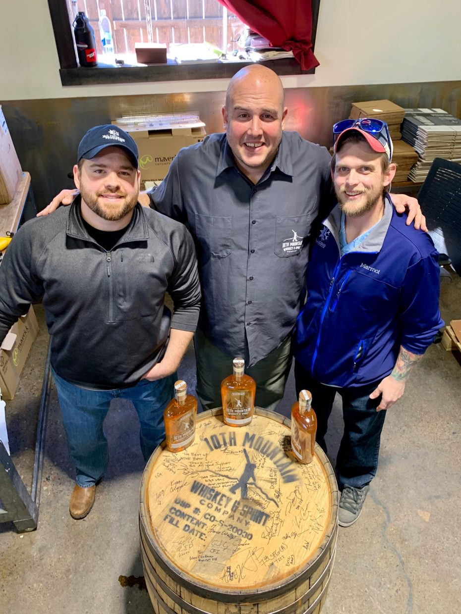 Vail Veterans Program, 10th Mountain Whiskey Co. partner on bottling process