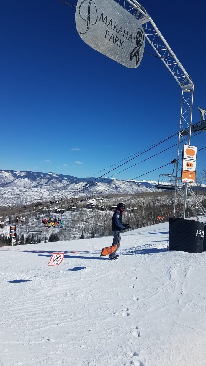 Makaha Park was closed Sunday after a person died in the terrain park at Snowmass Mountain Resort.