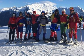 Roundup River Ranch, Superhero Ski Day