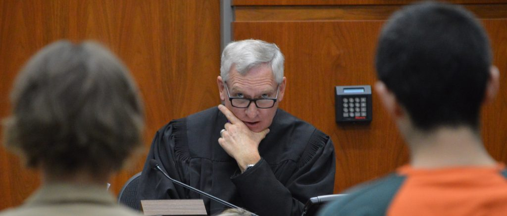 District Court Judge Russell Granger pointed out that if Andrew Young had taken his chances at trial, Young could have faced upp to 48 years in prison for the May 31, 2018 stabbing of an Avon woman.