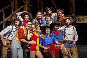 Theater and circus colide with Cirque Eloize at the Vilar