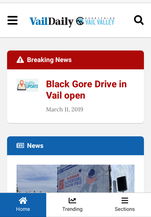 Vail Daily's new mobile-first website to launch Thursday