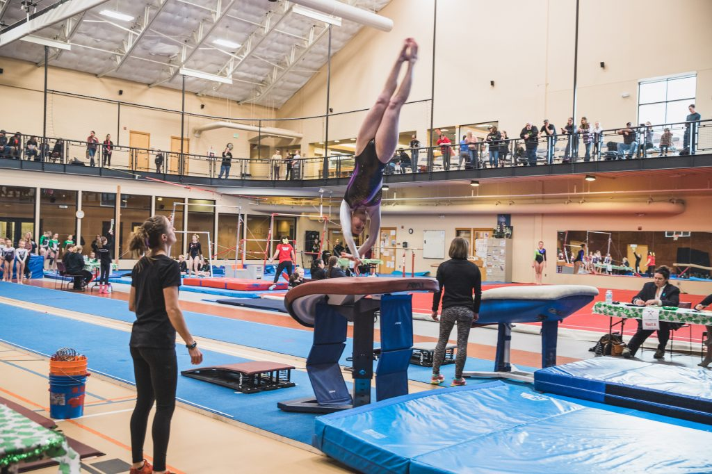 Local gymnast says sport has saved her sanity, and maybe her life
