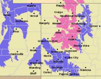 Winter storm warning issued for Vail, surrounding areas