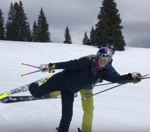 WATCH: Lindsey Vonn takes ski ballet lessons from Jonny Moseley in Vail