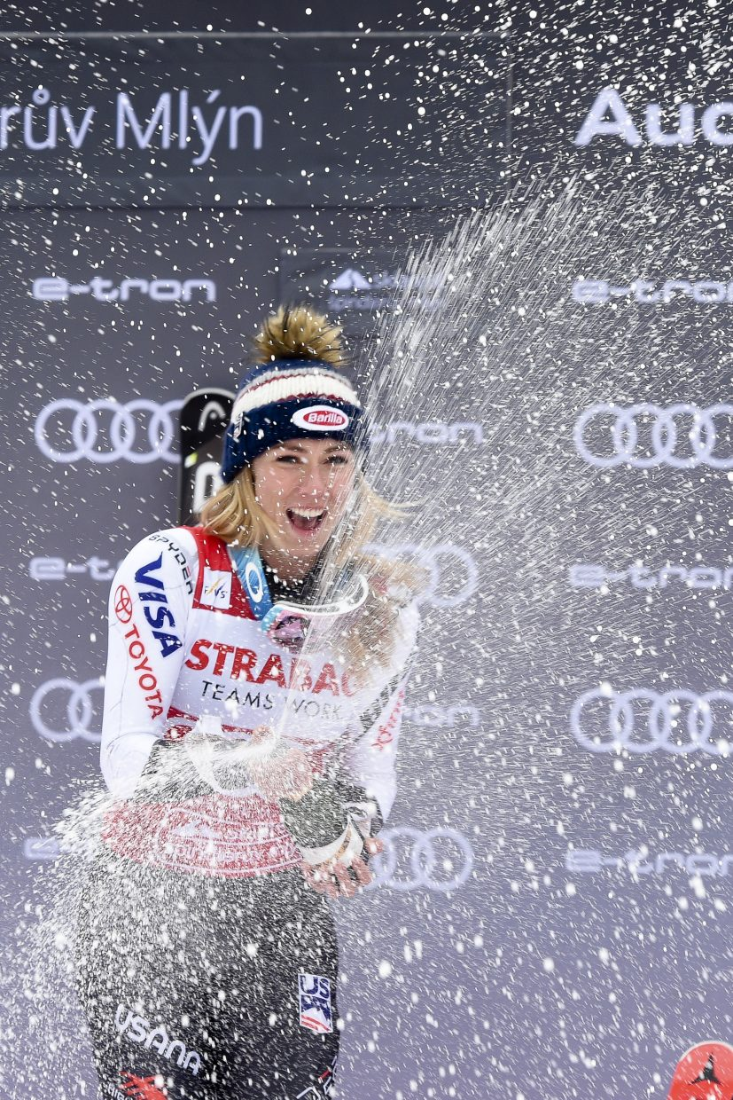 With no Olympics or FIS Alpine World Ski Championships this season, the World Cup schedule is more spread out over the calendar. Does that mean more winning for Mikaela Shiffrin?