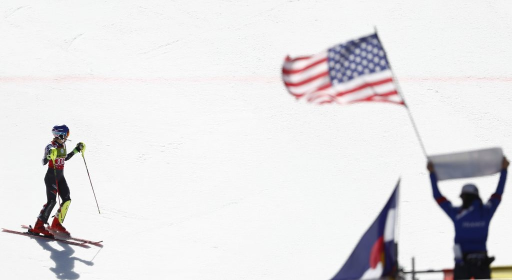 Mikaela Shiffrin wins her 16th World Cup race of the season on Saturday at the World Cup finals in Soldeu, Andorra. It was also her 10th win of the year in slalom or parallel slalom.