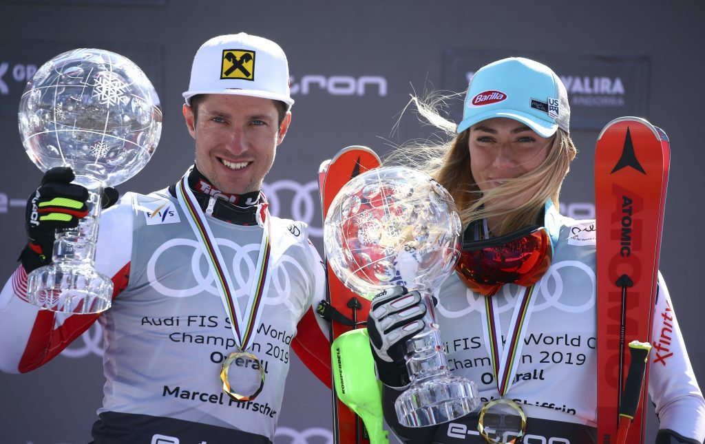 Mikaela Shiffrin said after the Sunday's giant slalom in Soldeu, Andorra, that she did not want to ski conservatively to clinch the season title. She let it fly and so did her emotions after winning the race and the globe.