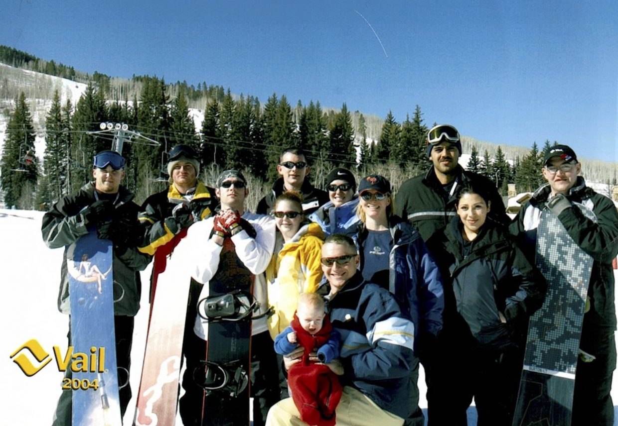 This is the 2004 Vail Veterans Program crew that started it all, seven participants in what was supposed to be a one-time event. Fifteen years later they've served more than 3,000 injured veterans and their families.