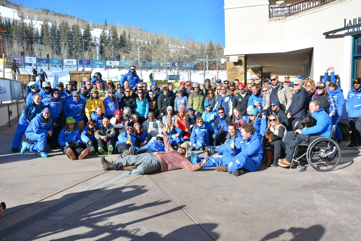 The Vail Veterans Program celebrated 15 years with this week's winter family program. What started with seven people in 2004 has now served more than 3,000.