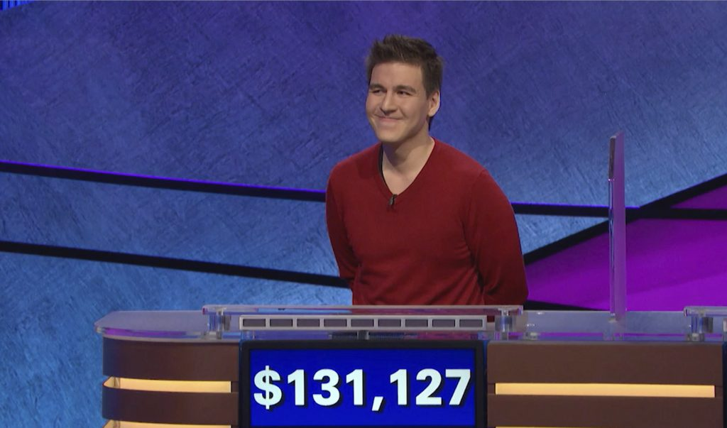 'Jeopardy!' champ passes $1 million mark