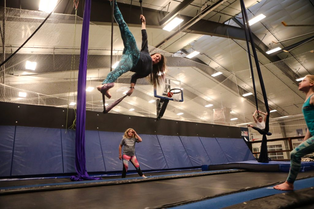 Mountain Rec's Circus Fun sessions offer a fantasy fulfillment workout