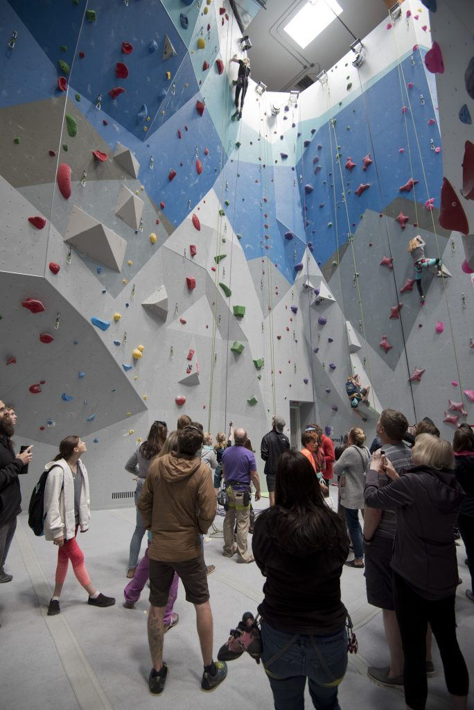 Eagle gym hosts USA Climbing sport competition