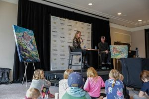 Mikaela Shiffrin shares stories of her record-breaking season with hometown crowd in Avon