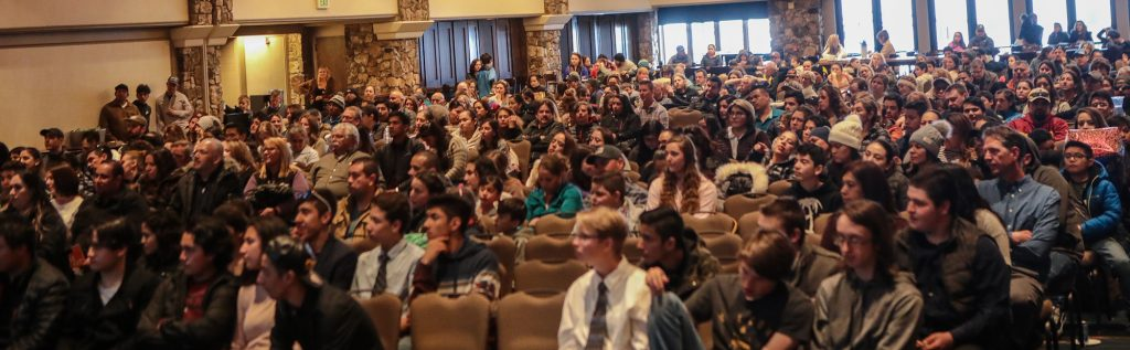 Many came out to support the graduation of SOS Outreach students on April 11 in Beaver Creek.
