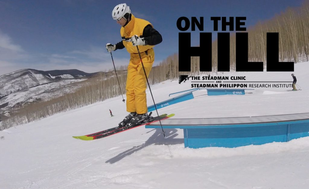 VIDEO: 69-year-old skier Steve Katz hits jumps and boxes in Vail's terrain park