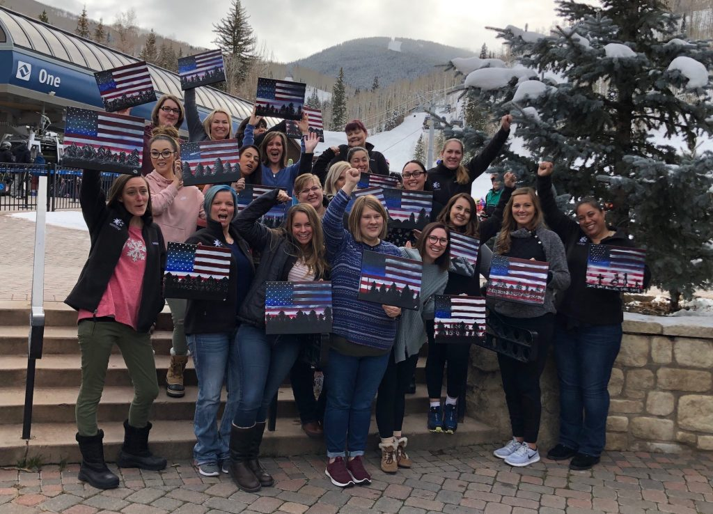 The Vail Veterans Program hosted a Caregivers Reunion this week. The Caregivers played, learned and made a few dozen new best friends.