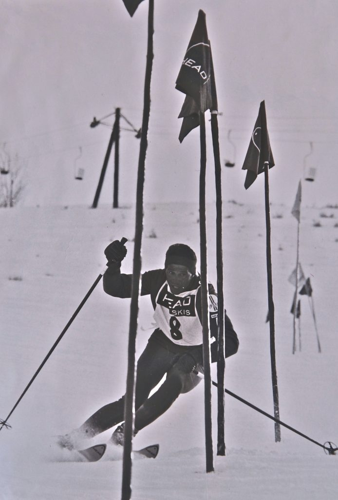 Austrian professional ski racer Pepi Gramshammer was a big part of promoting early Vail. Pepi and Sheika Gramshammer built and opened Gastof Gramshammer in 1964.