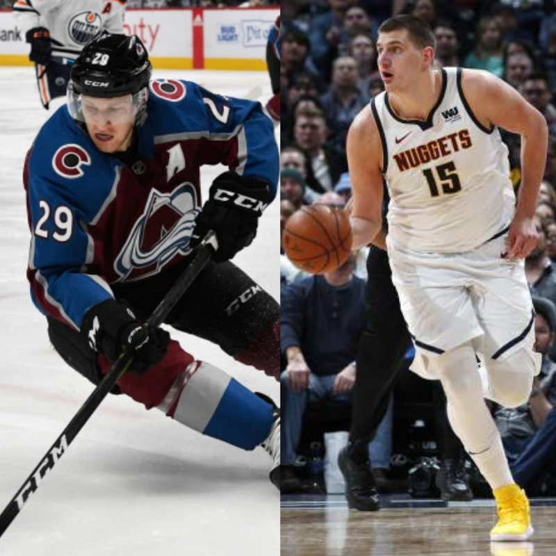 Nuggets And Avs Have Never Both Advanced To The Second