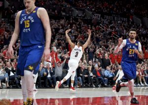 Nuggets admit disappointment after historic four-overtime loss to Blazers