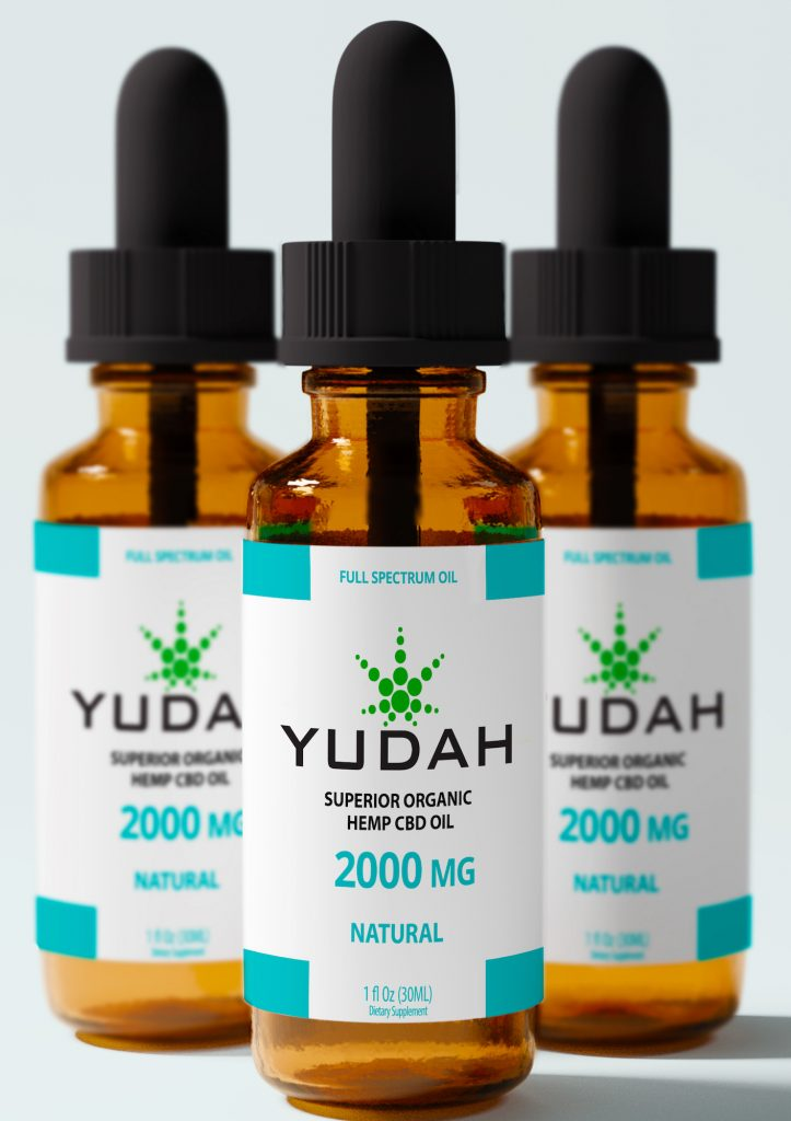 YUDAH is Chad Fleischer's CBD oil company.