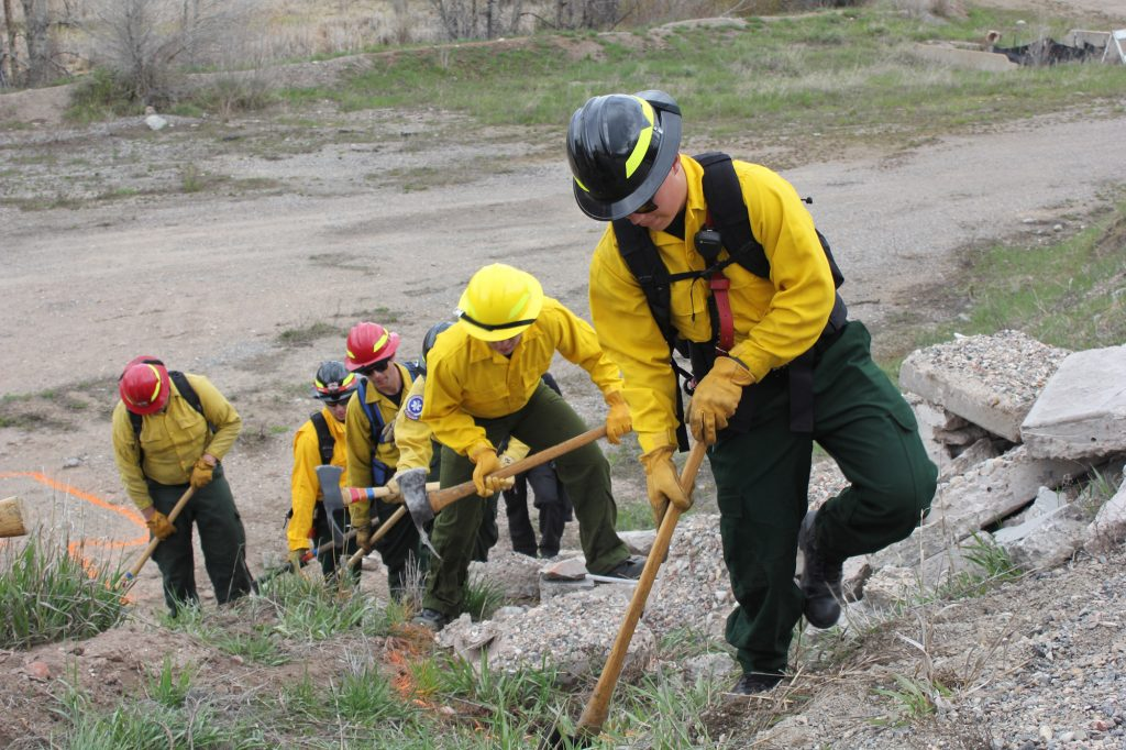 While the Vail Valley is just coming out of a cool, wet spring, firefighters continue to train, and warn that weather and fuel conditions could quickly become more fire-prone.