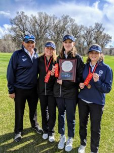 Vail Mountain School golf team makes state