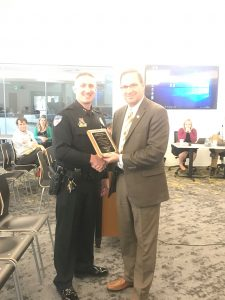 Avon Police Chief recognized for excellence