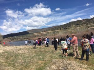Local middle schoolers study proposed Edwards River Park Project