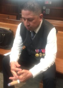 Ex-soldier recovering from PTSD talks about life, love, recovery and beating a DUI charge
