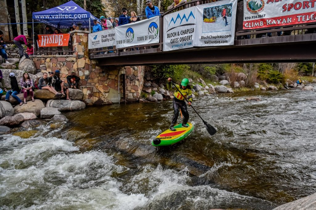 Paddleboard giveaways galore at Tuesday whitewater races in Vail