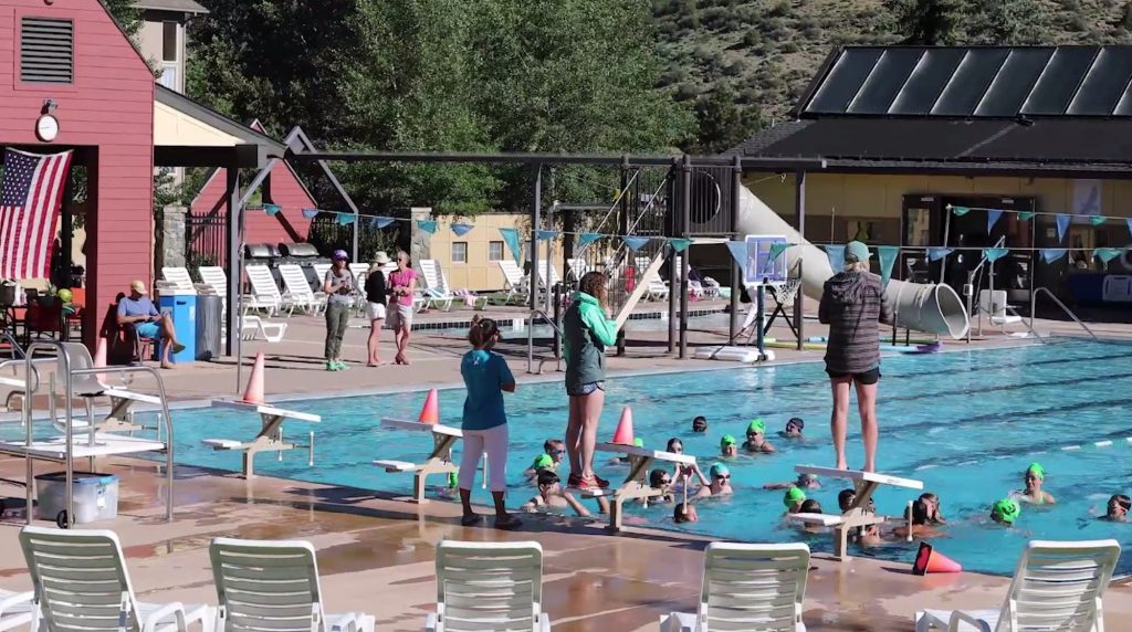 The EagleVail Swimming Pool is open for the season and offers swimming lessons, master swim classes, movie nights and more throughout the season.