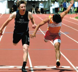 Vail Christian's Kinsella golden in 200