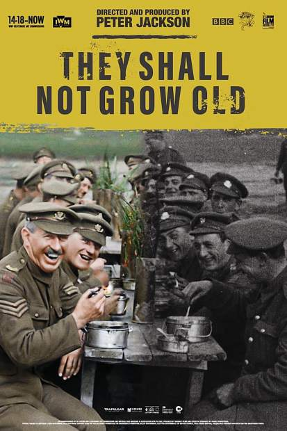 Vilar Center at Beaver Creek presents free screening of 'They Shall Now Grow Old' on Memorial Day