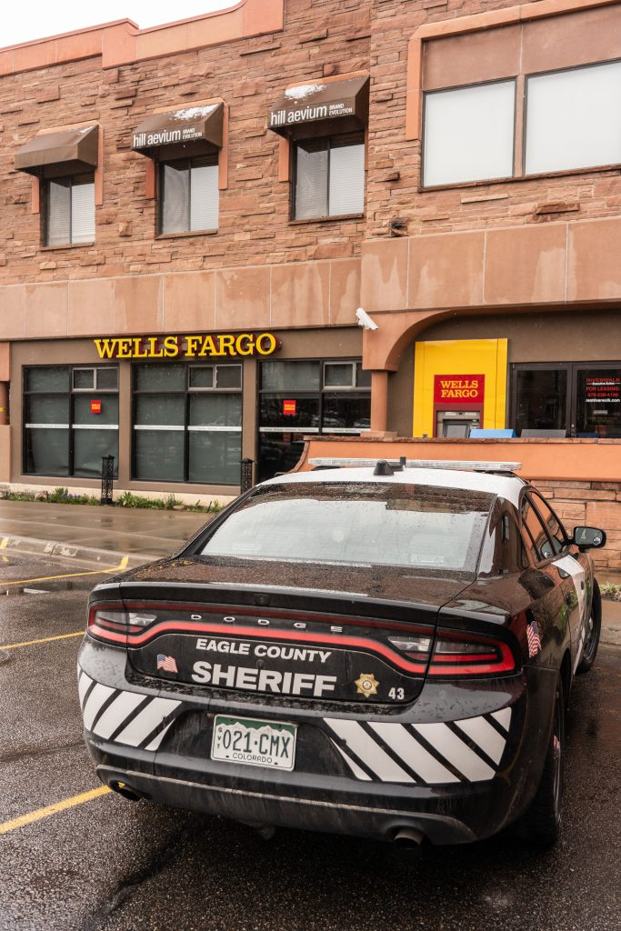 An attempted bank robbery took place at the Wells Fargo in Edwards on Wednesday.