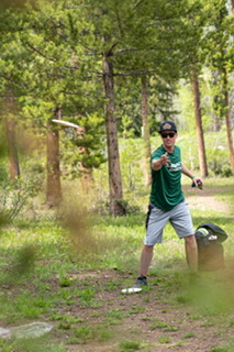 Disc Golf at Maloit Park for the GoPro Mountain Games in Vail.