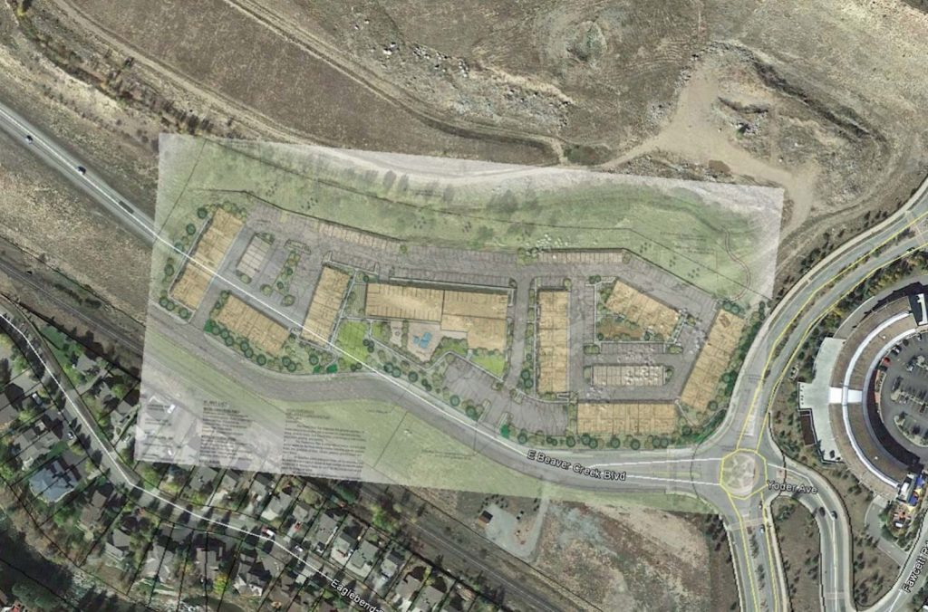 The project is just west of Traer Creek Plaza, on a now-empty parcel at the northwest corner of Post Boulevard and East Beaver Creek Boulevard.
