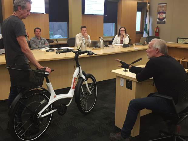 Aspen does a hard stop on future dockless scooters, e-bikes