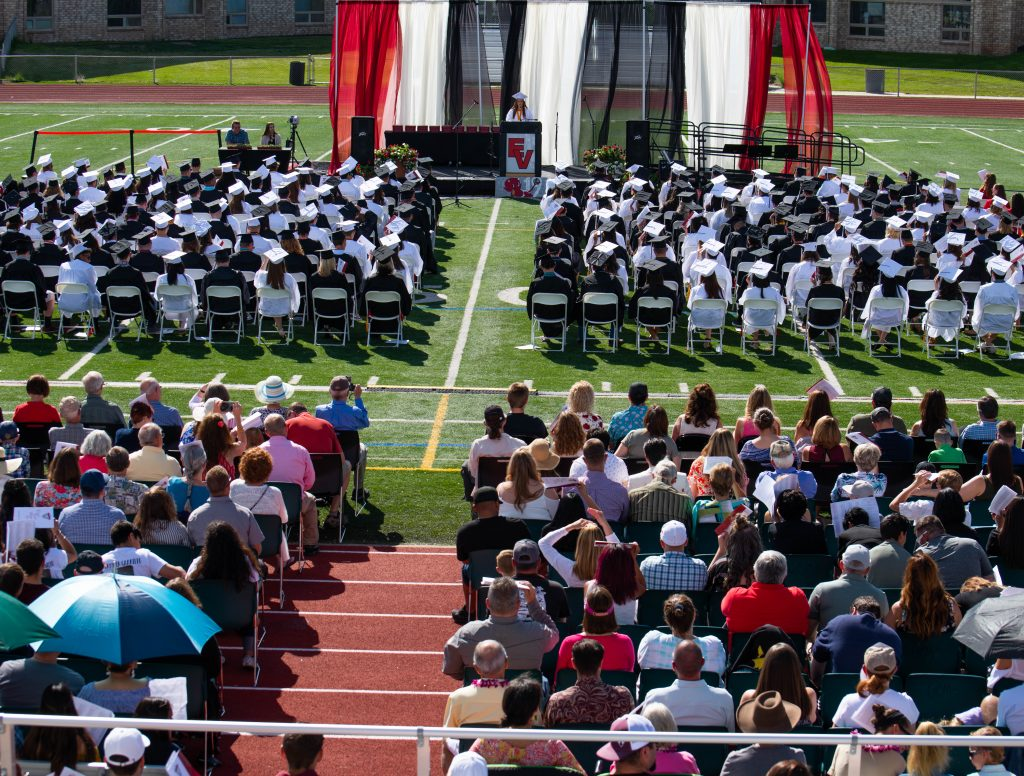 Eagle Valley graduated its largest class ever with 190 seniors on Saturday.