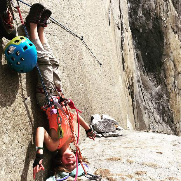 Selah Schneiter shows that being the youngest ever to climb El Capitan is serious business.