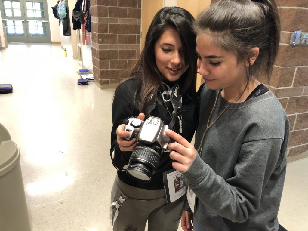 Gypsum Creek Middle School's M-Term is two weeks of hands-on learning in subjects that students and teachers chose. Classes ranged from digital photography to international cooking.