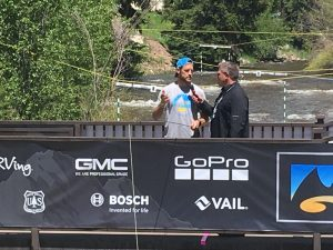 Was that Brooks Laich casting lines at the GoPro Mountain Games?
