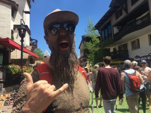 Who's that muddy man at the Mountain Games? Meet The Mud Stud