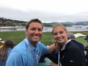 Father's Day weekend tradition: Local sports chiropractor helps out at US Open in Pebble Beach